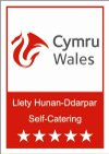 visit wales 5 start self catering logo